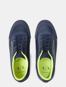 ARMANI EXCHANGE NEON LOGO SNEAKERS Sneakers U e