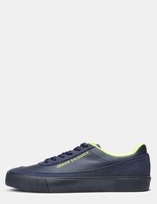 ARMANI EXCHANGE NEON LOGO SNEAKERS Sneakers U f