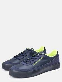 ARMANI EXCHANGE NEON LOGO SNEAKERS Sneakers [*** pickupInStoreShippingNotGuaranteed_info ***] r