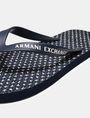 ARMANI EXCHANGE A|X MICROPRINT FLIP FLOPS flip-flop [*** pickupInStoreShippingNotGuaranteed_info ***] d