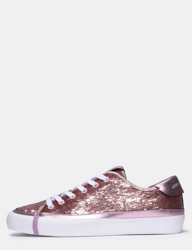 TONAL ALLOVER SEQUIN SNEAKERS