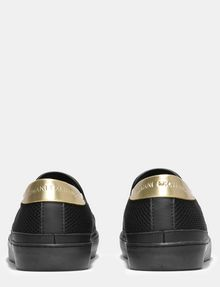 ARMANI EXCHANGE METALLIC ACCENT MESH SLIP-ON SNEAKERS Sneakers Damen d