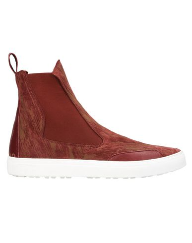 S0223 SLIP-ON HIGH (GELASERTES VELOURSLEDER)