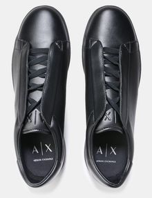 ARMANI EXCHANGE LACED-IN MINIMALIST SNEAKERS Sneakers Man e