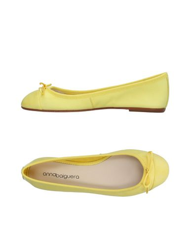 Фото - Женские балетки  желтого цвета