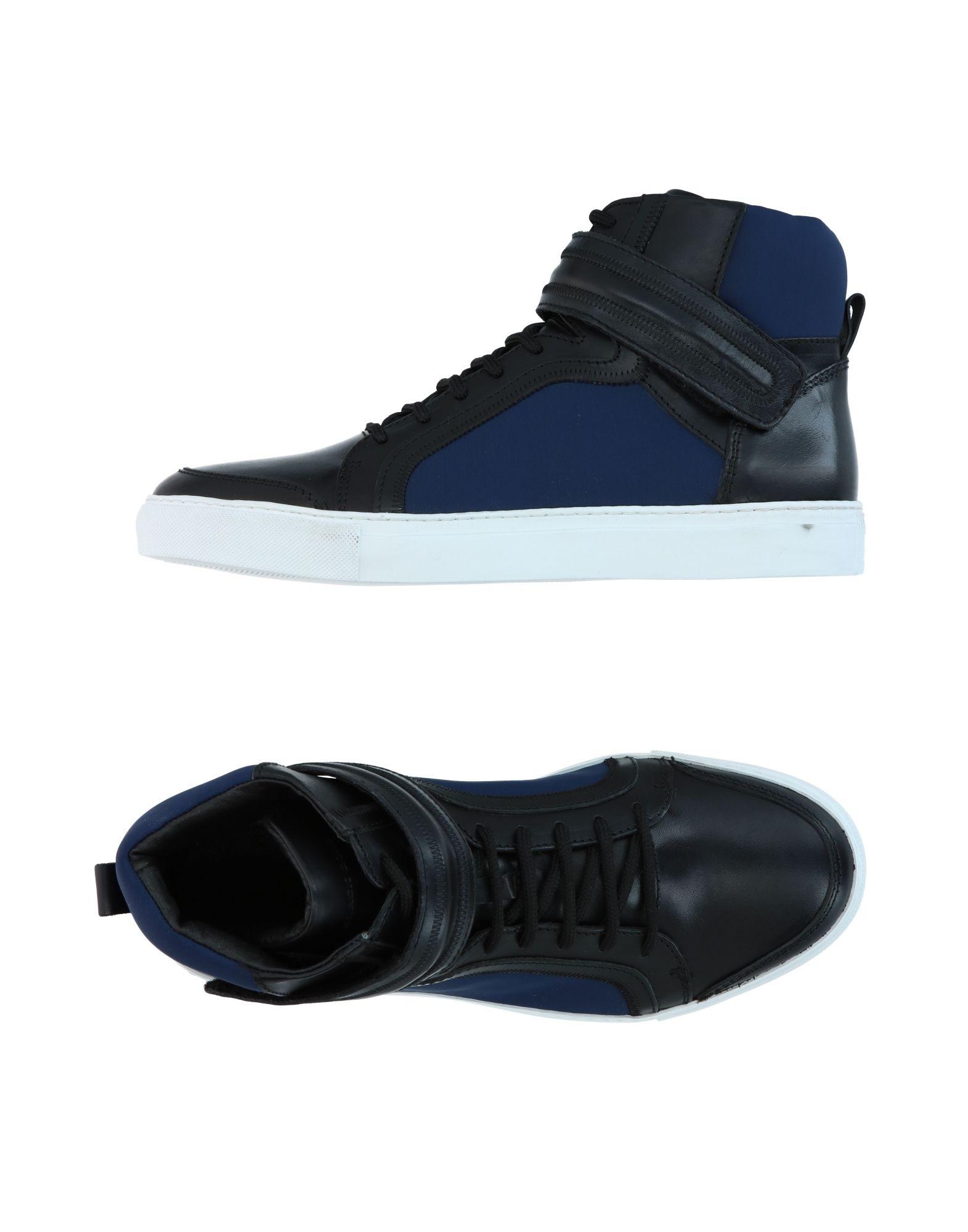 DIESEL BLACK GOLD Herren High Sneakers & Tennisschuhe Farbe Blau Größe 9