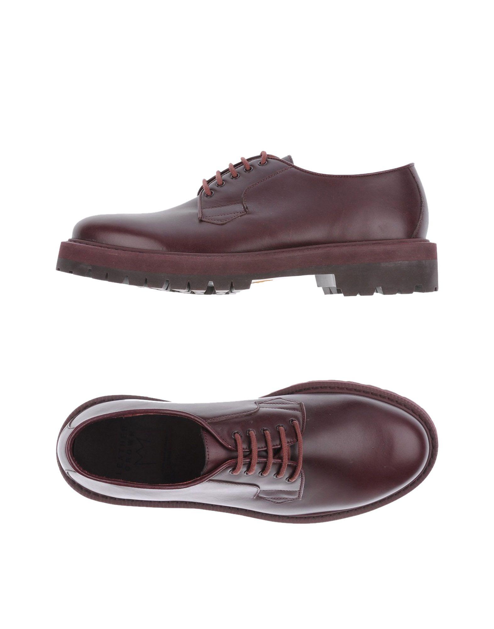 цена  LEATHER CROWN Обувь на шнурках  онлайн в 2017 году