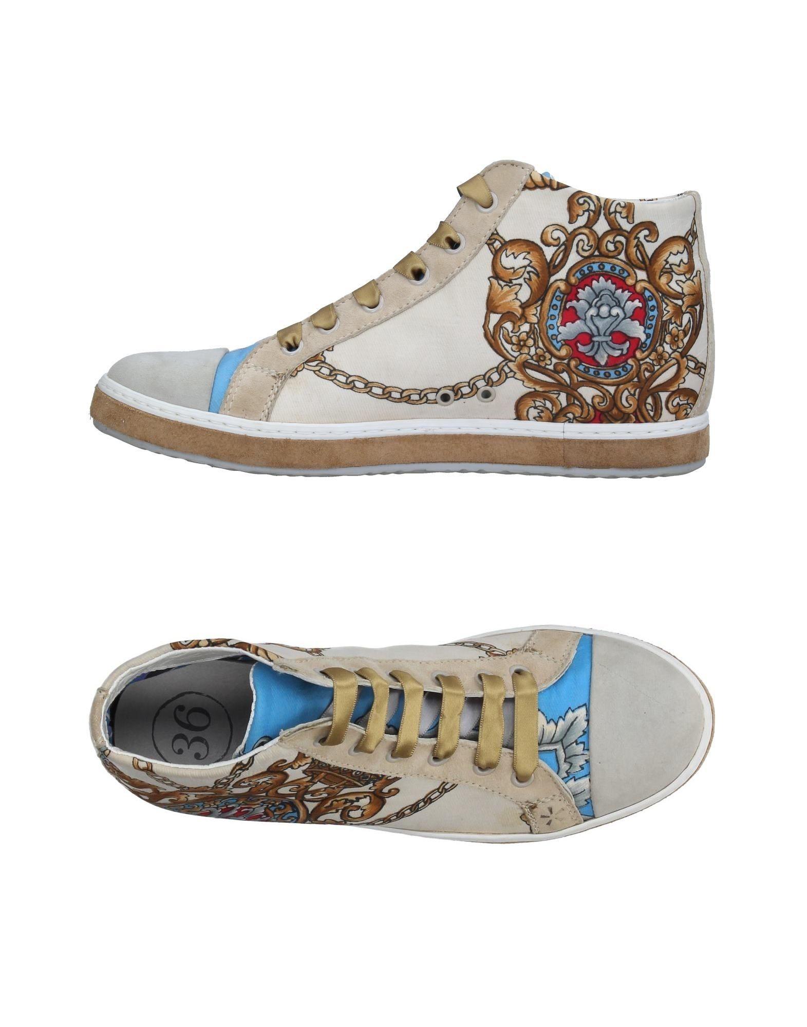 SOISIRE SOIEBLEU Damen High Sneakers & Tennisschuhe Farbe Beige Größe 5