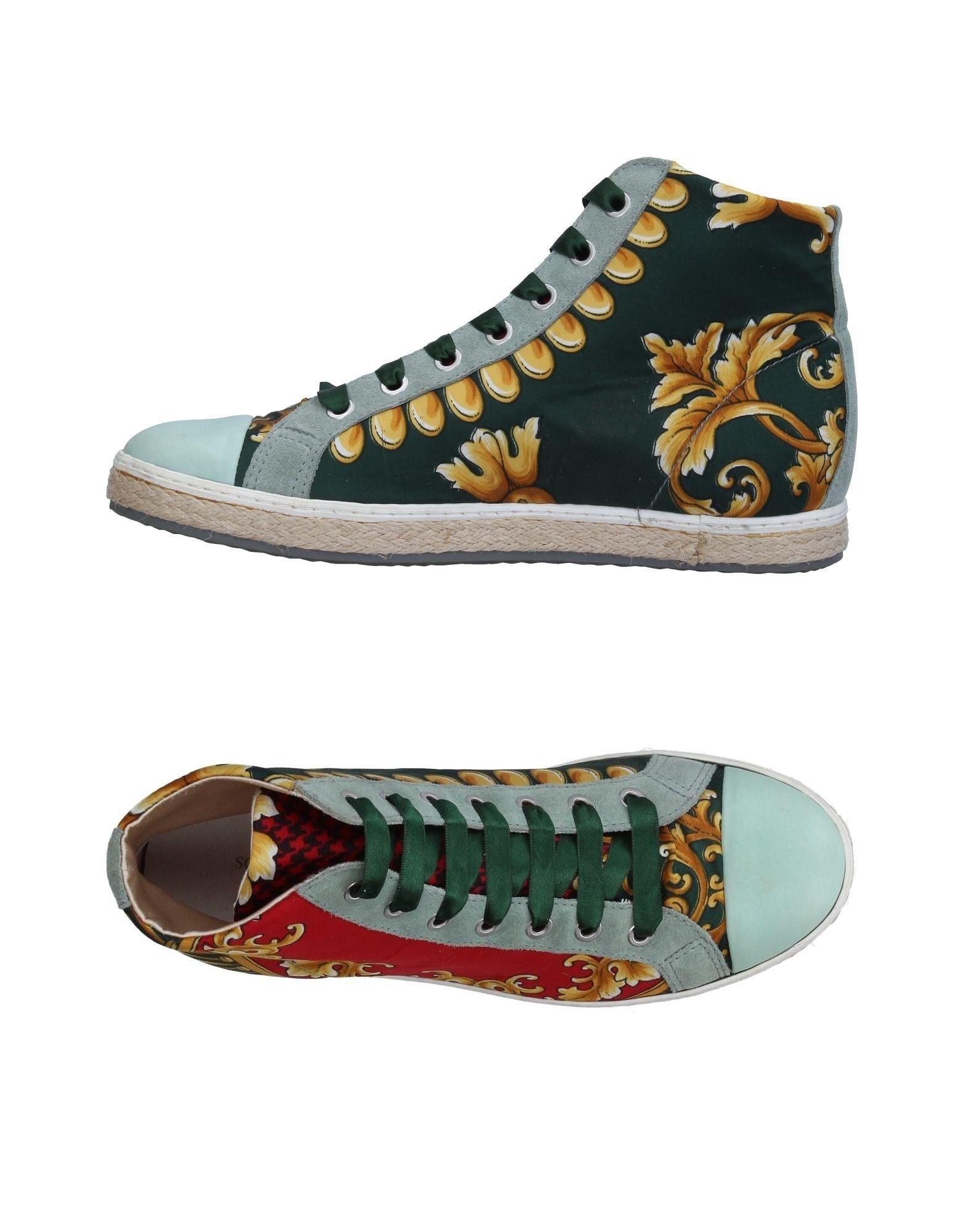 SOISIRE SOIEBLEU Damen High Sneakers & Tennisschuhe Farbe Grün Größe 9