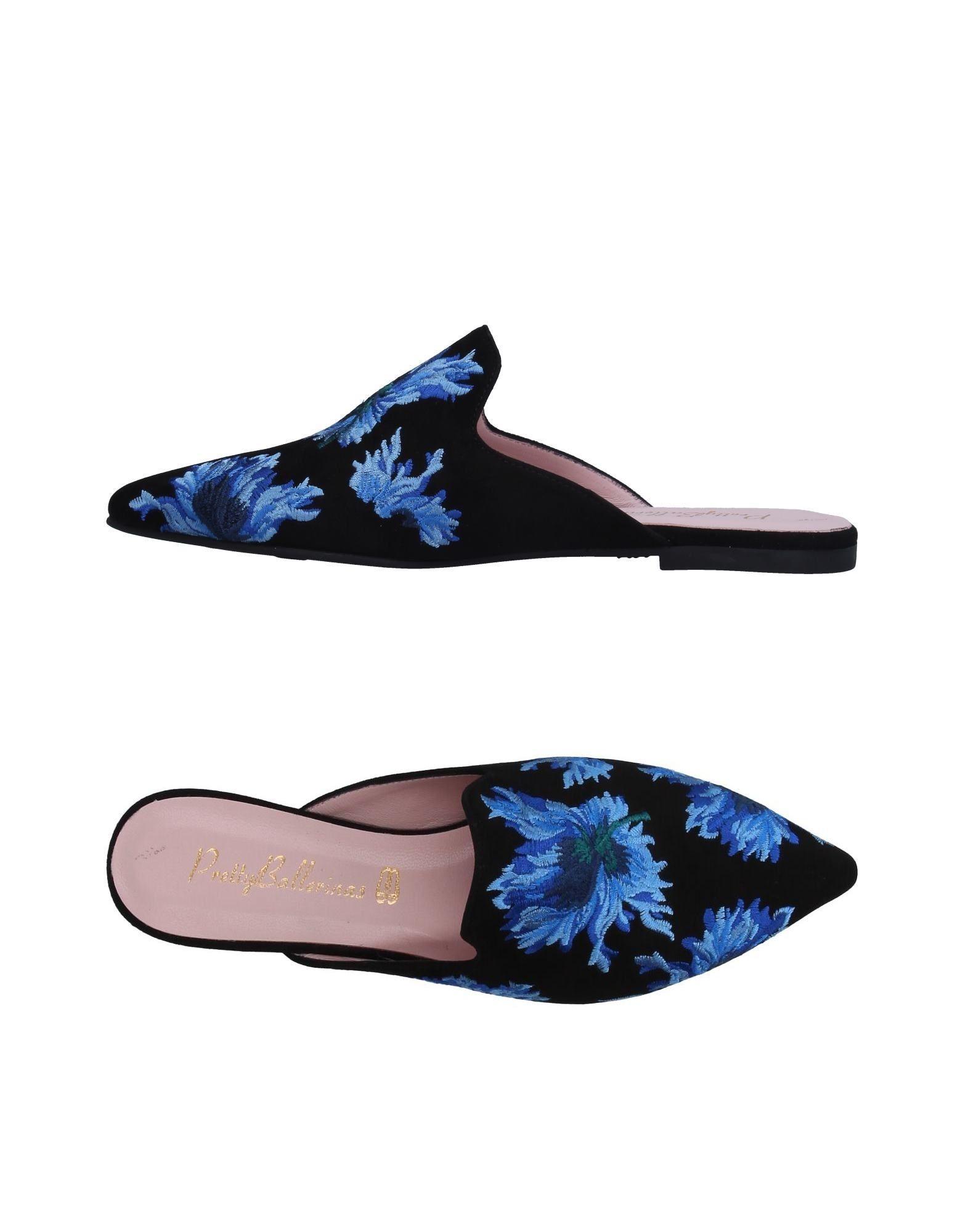 PRETTY BALLERINAS Мюлес и сабо pretty ballerinas обувь на шнурках