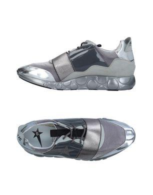HAUS GOLDEN GOOSE Damen Low Sneakers & Tennisschuhe Farbe Silber Größe 7