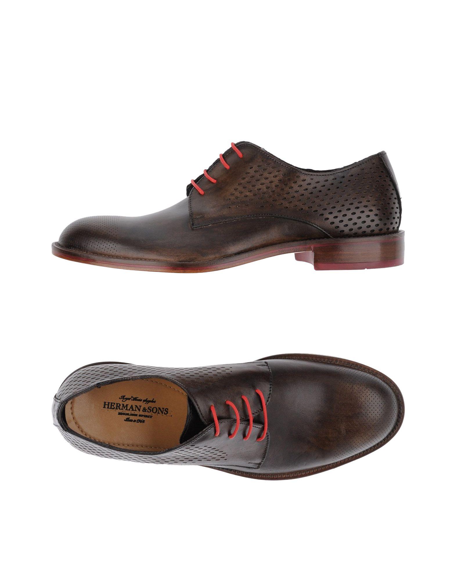 HERMAN & SONS Обувь на шнурках