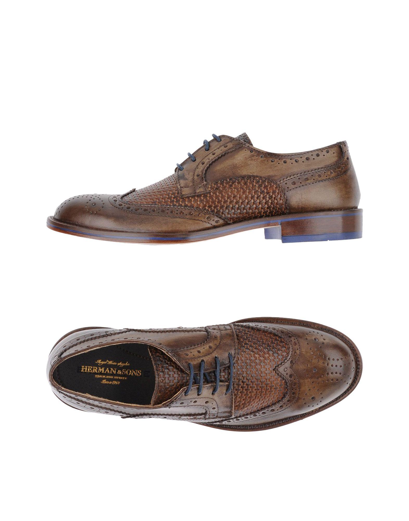 HERMAN & SONS Обувь на шнурках цена 2017