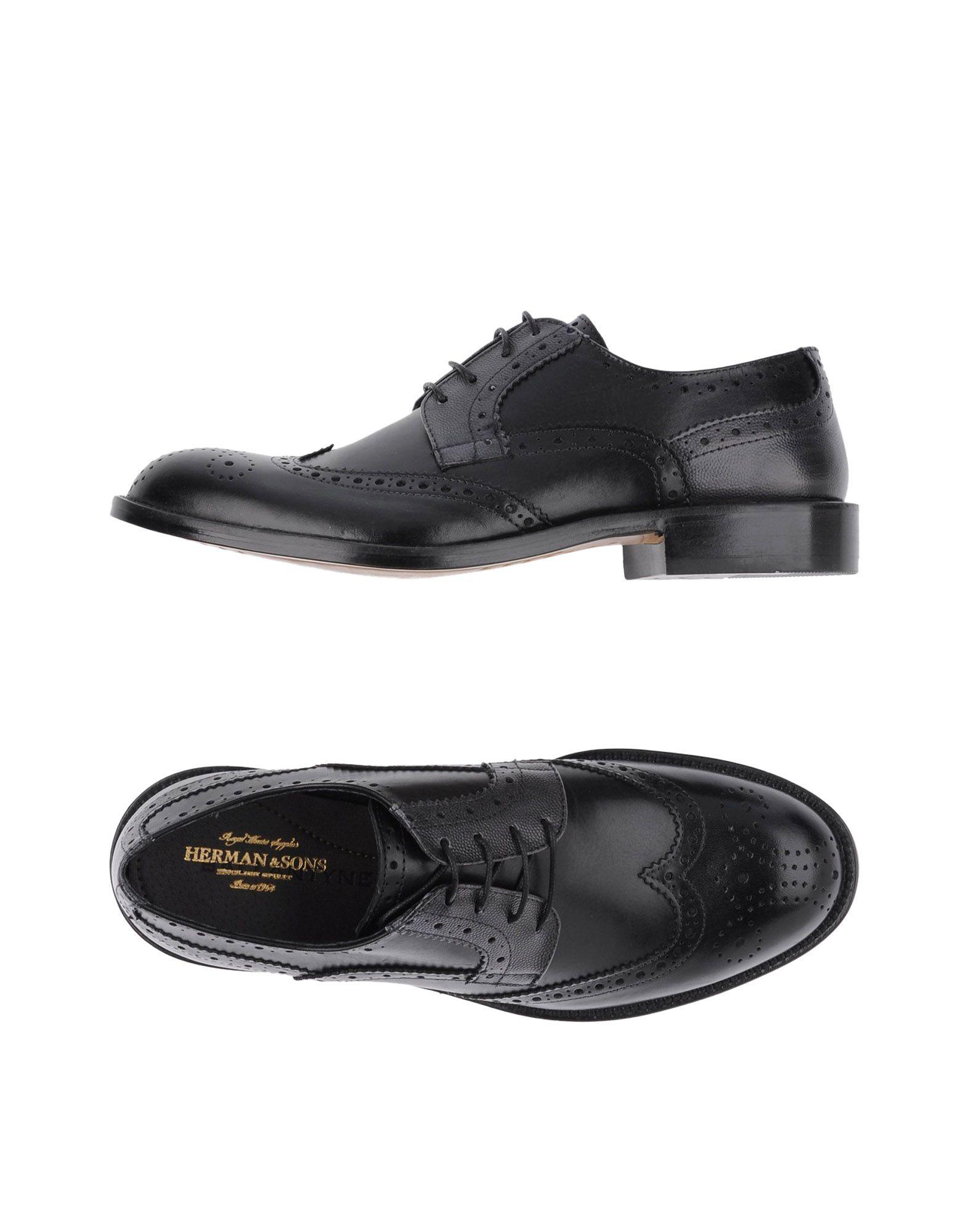 где купить HERMAN & SONS Обувь на шнурках по лучшей цене