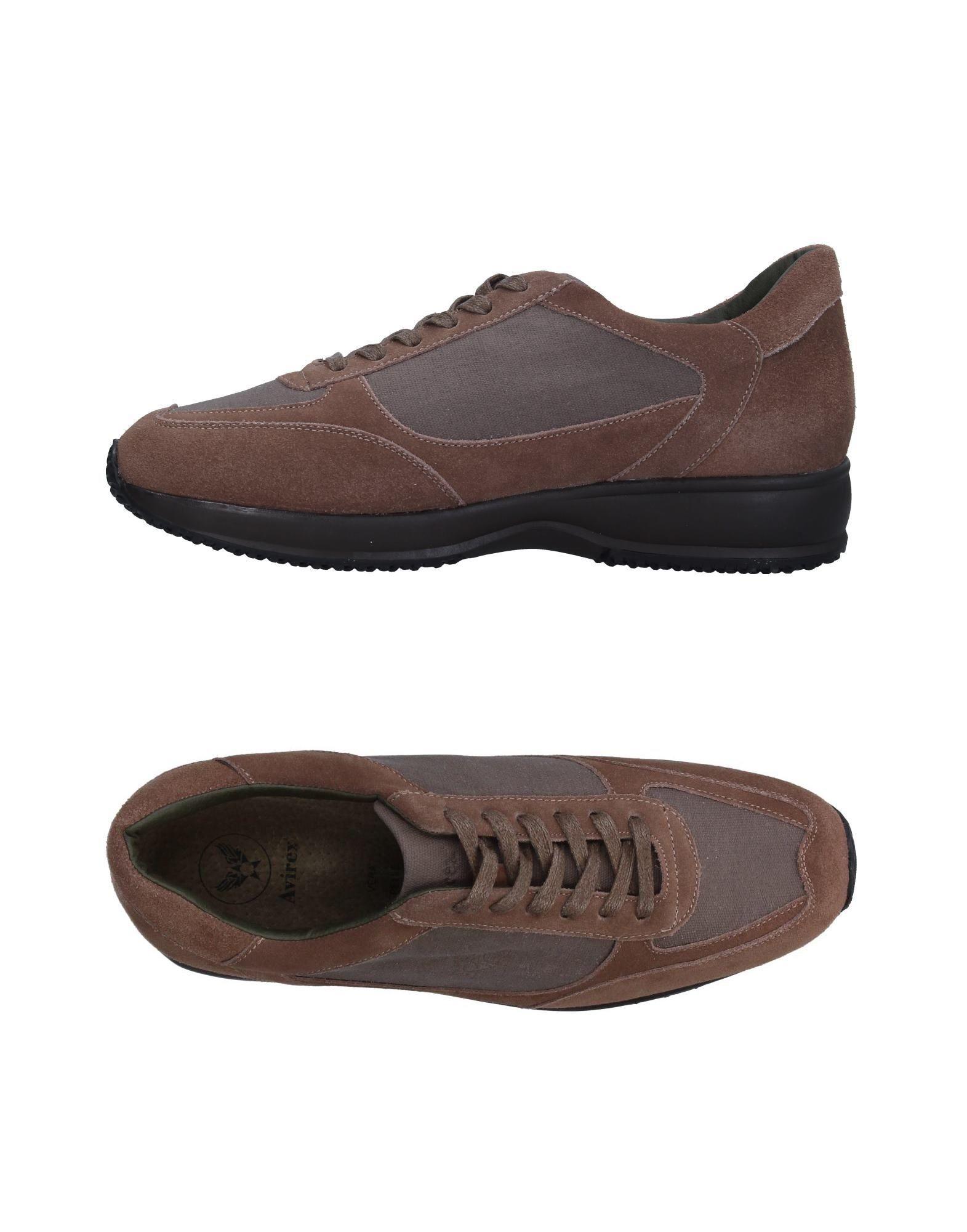 цены на AVIREX Низкие кеды и кроссовки в интернет-магазинах