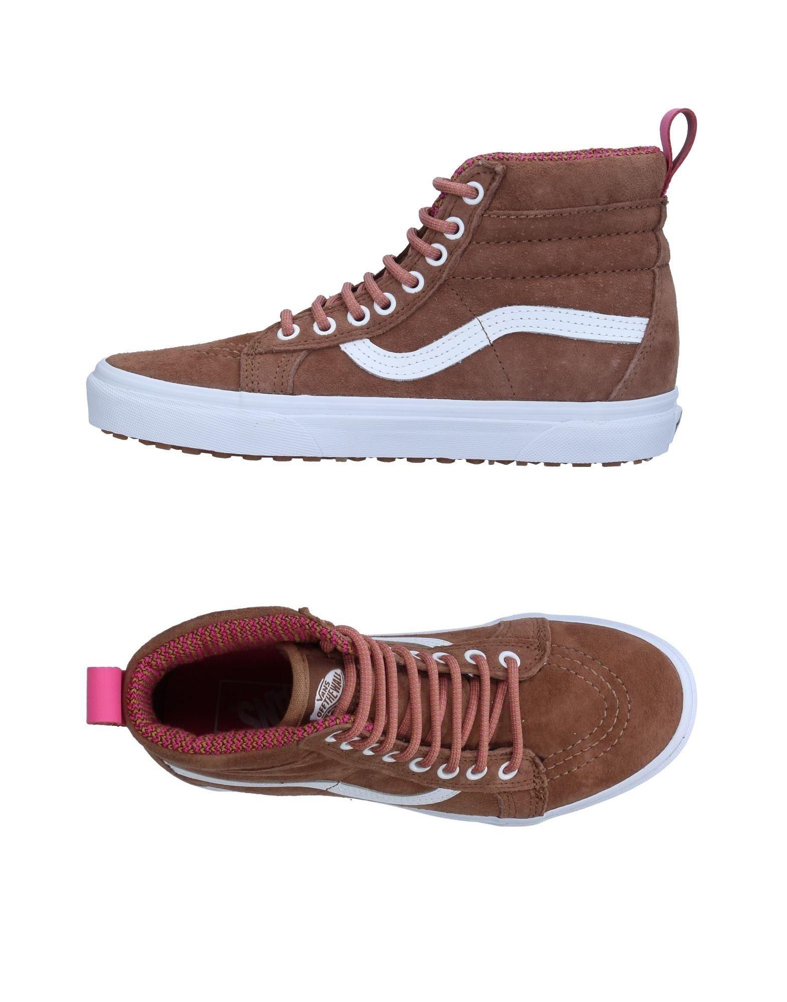 VANS Высокие кеды и кроссовки