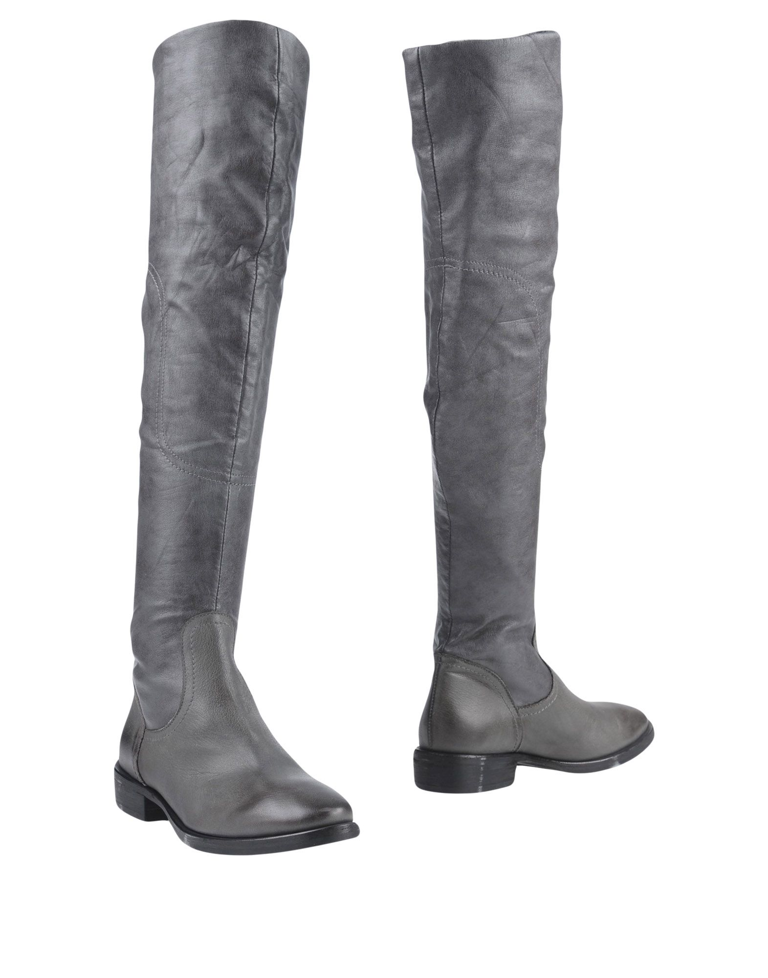 JFK Damen Stiefel Farbe Grau Größe 7