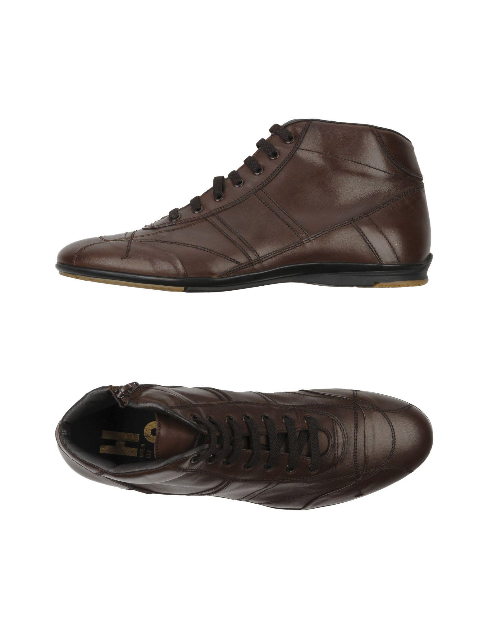ALEXANDER HOTTO Высокие кеды и кроссовки alexander hotto оригинальные кожаные кроссовки бренда alexander hotto