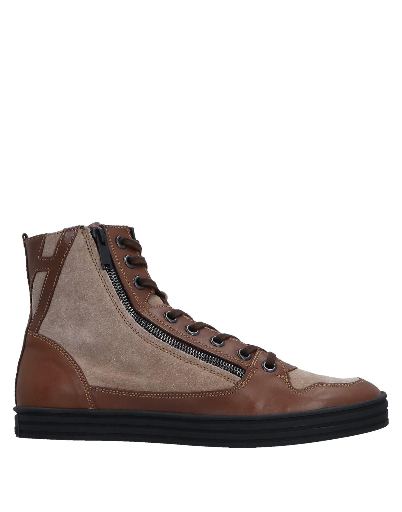 HOGAN REBEL Boots in Dove Grey