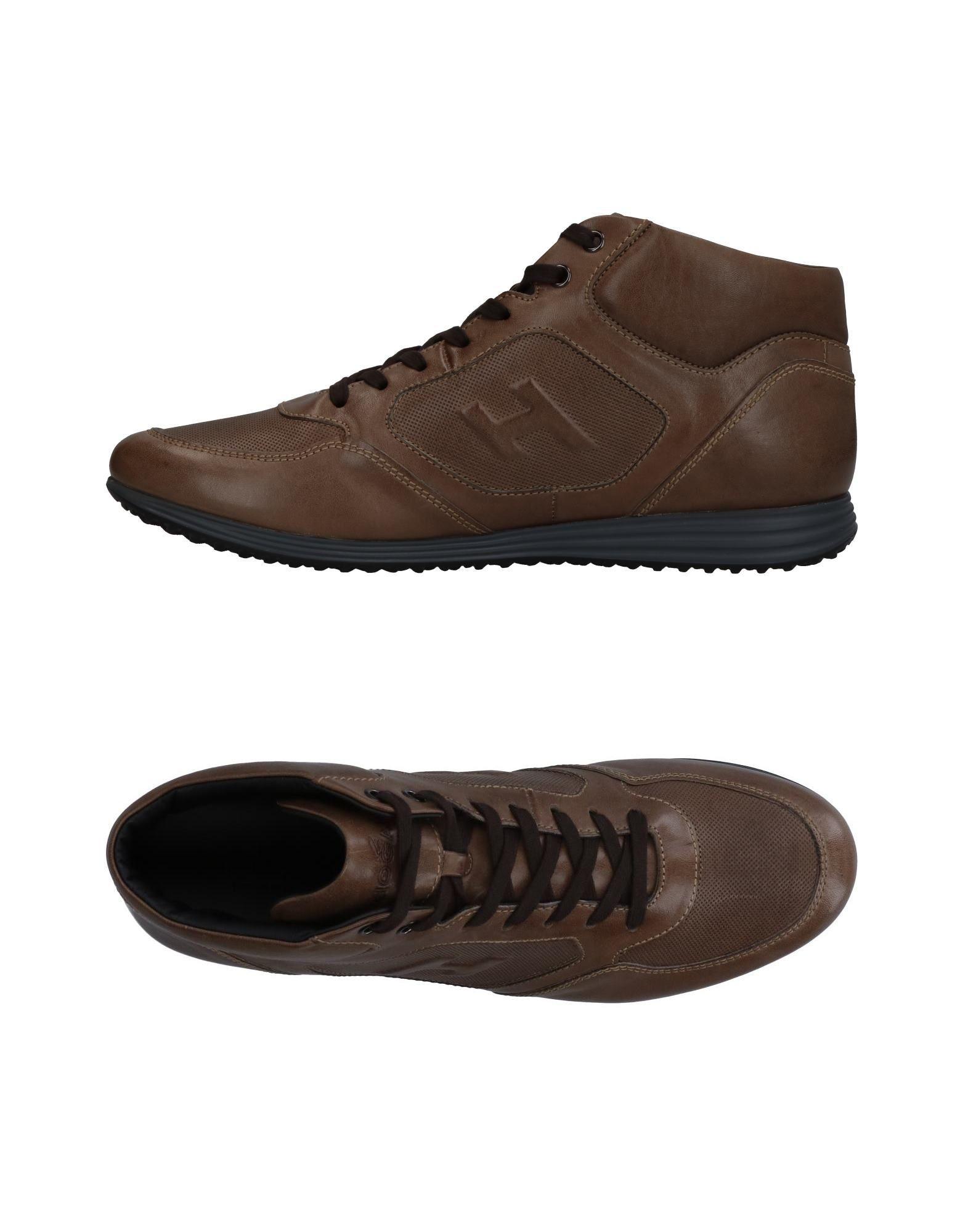 HOGAN Высокие кеды и кроссовки кеды кроссовки высокие dc council mid tx stone camo