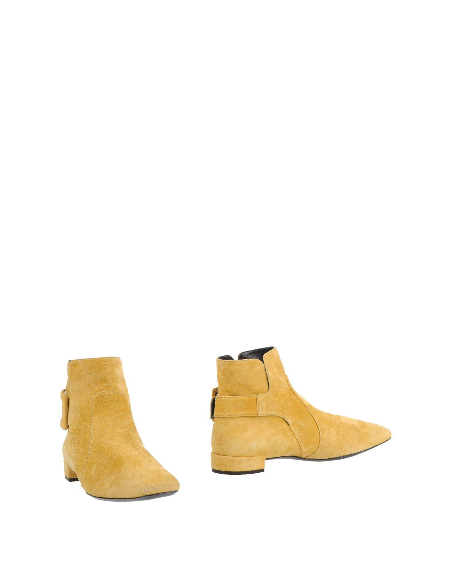 ROGER VIVIER Полусапоги и высокие ботинки roger vivier belle vivier pumps in suede brown [9034] $217 00 professional roger vivier stores rogerviviershop cn