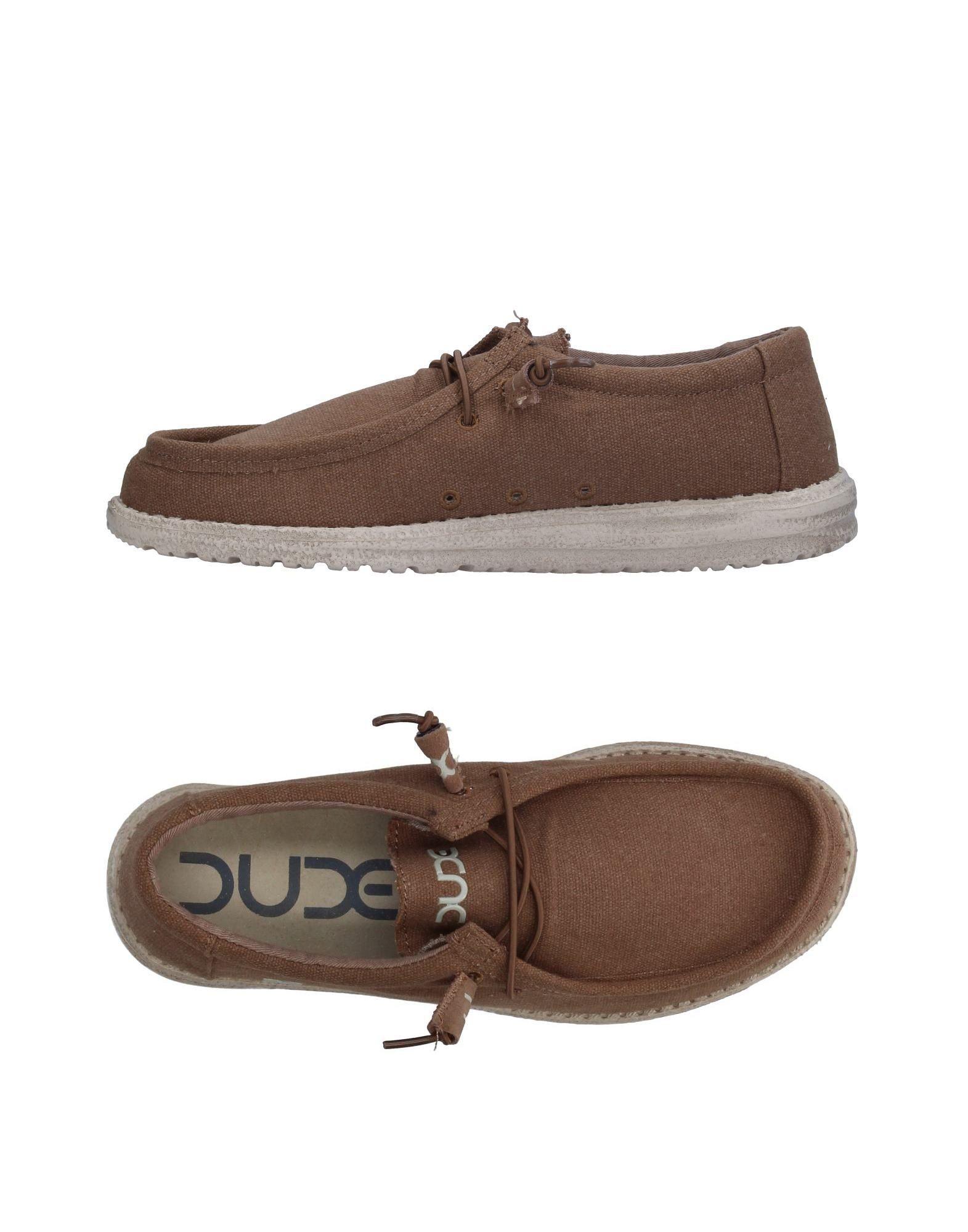 《送料無料》HEY DUDE SHOES メンズ スニーカー&テニスシューズ(ローカット) ブラウン 7 紡績繊維