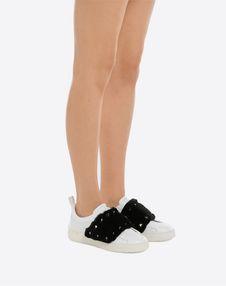 Mink Stud Open Sneaker