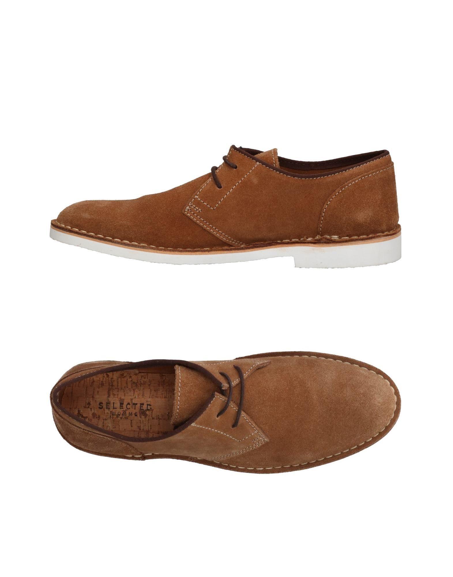SELECTED HOMME Обувь на шнурках