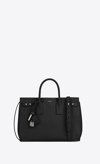 SAINT LAURENT Sac De Jour Supple D MEDIUM SAC DE JOUR SOUPLE bag in black grained leather v4