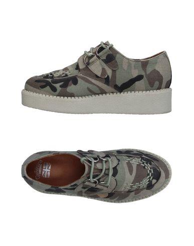 Фото - Обувь на шнурках цвет зеленый-милитари