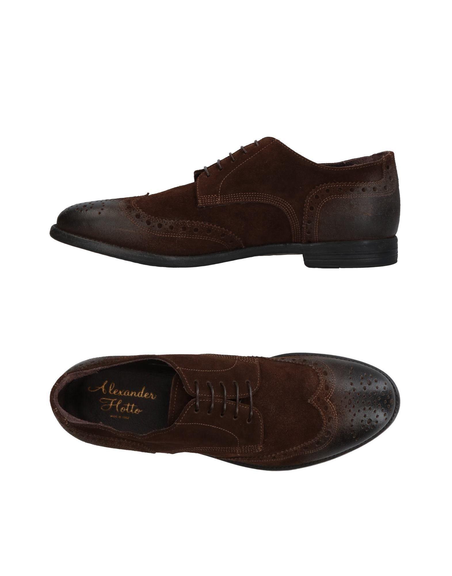ALEXANDER HOTTO Обувь на шнурках alexander hotto оригинальные кожаные кроссовки бренда alexander hotto