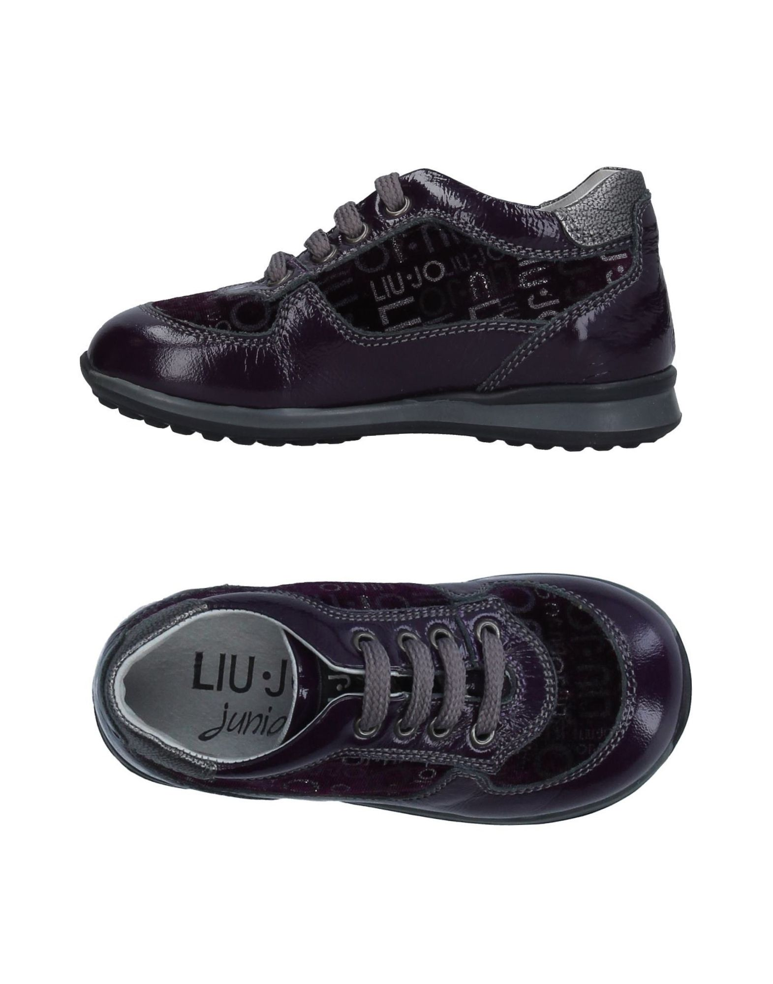 LIU •JO JUNIOR Mädchen 0-24 monate Low Sneakers & Tennisschuhe Farbe Violett Größe 40