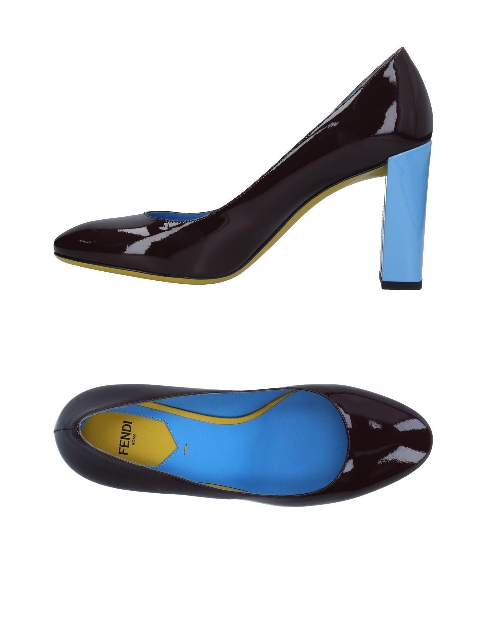 FENDI Туфли цены онлайн
