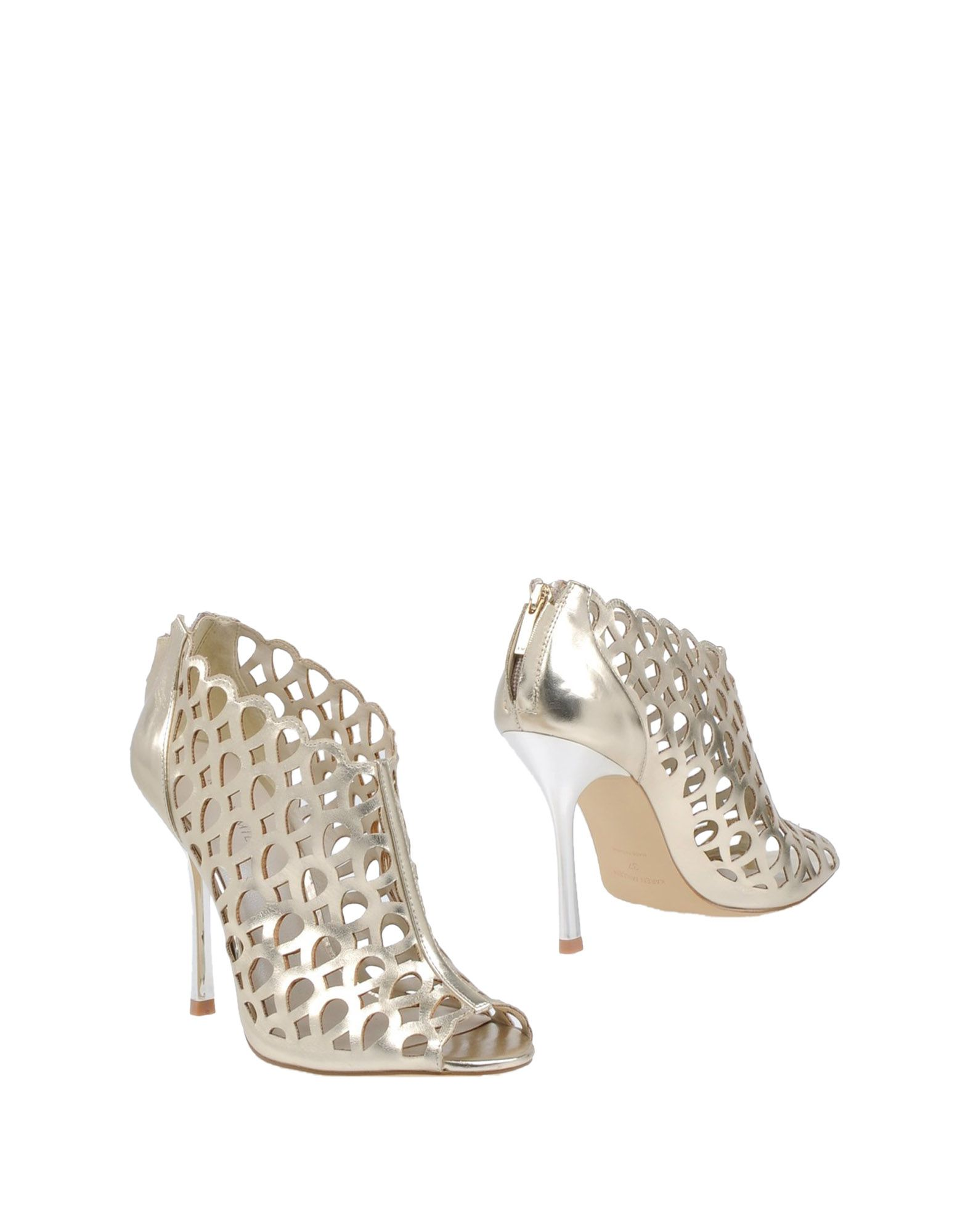 Ankle Boot, Gold