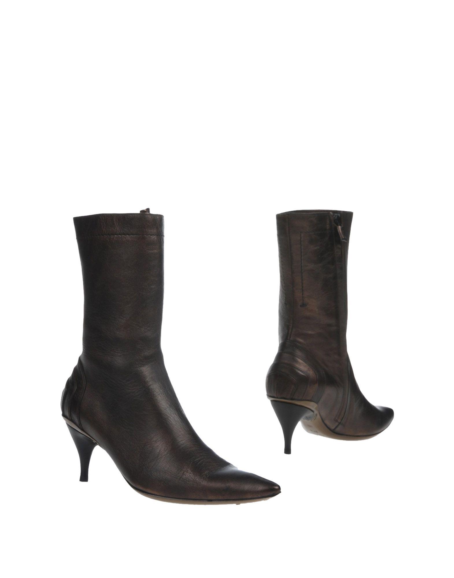 COSTUME NATIONAL LUXE Полусапоги и высокие ботинки цены онлайн