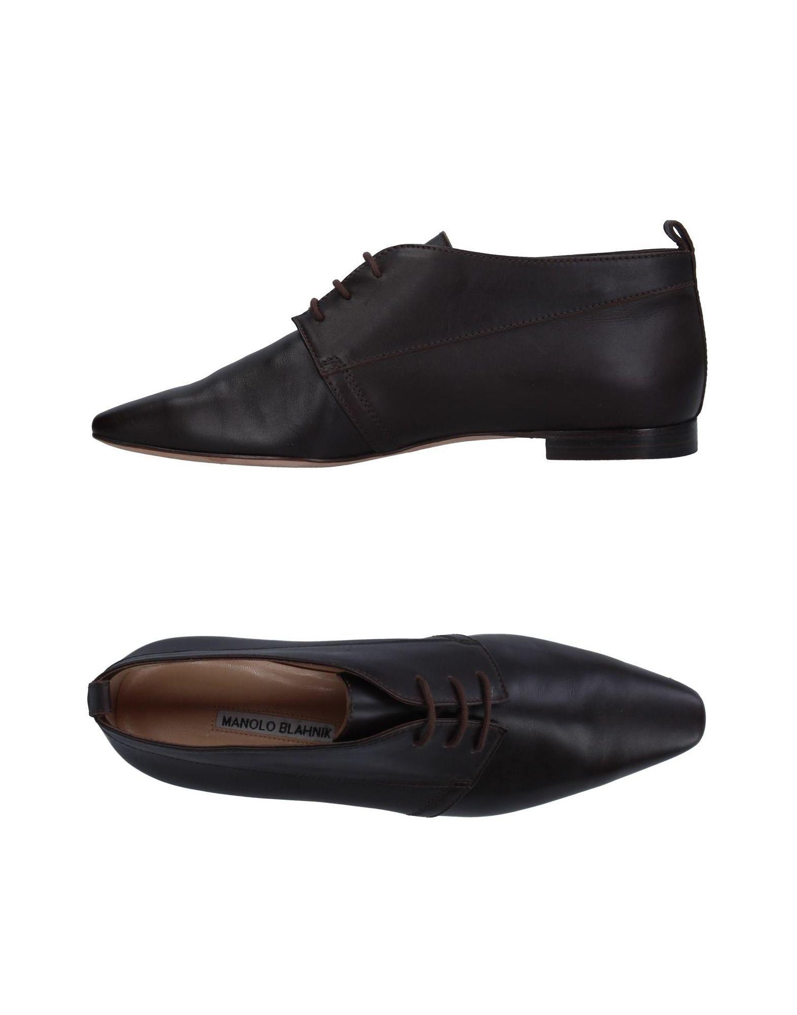 MANOLO BLAHNIK Обувь на шнурках