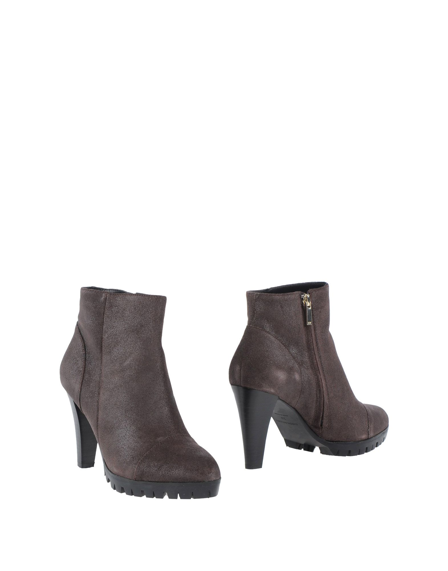 Ankle Boot in Dark Brown