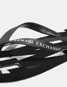 ARMANI EXCHANGE A X MICROPRINT FLIP FLOPS flip-flop [*** pickupInStoreShippingNotGuaranteed_info ***] e