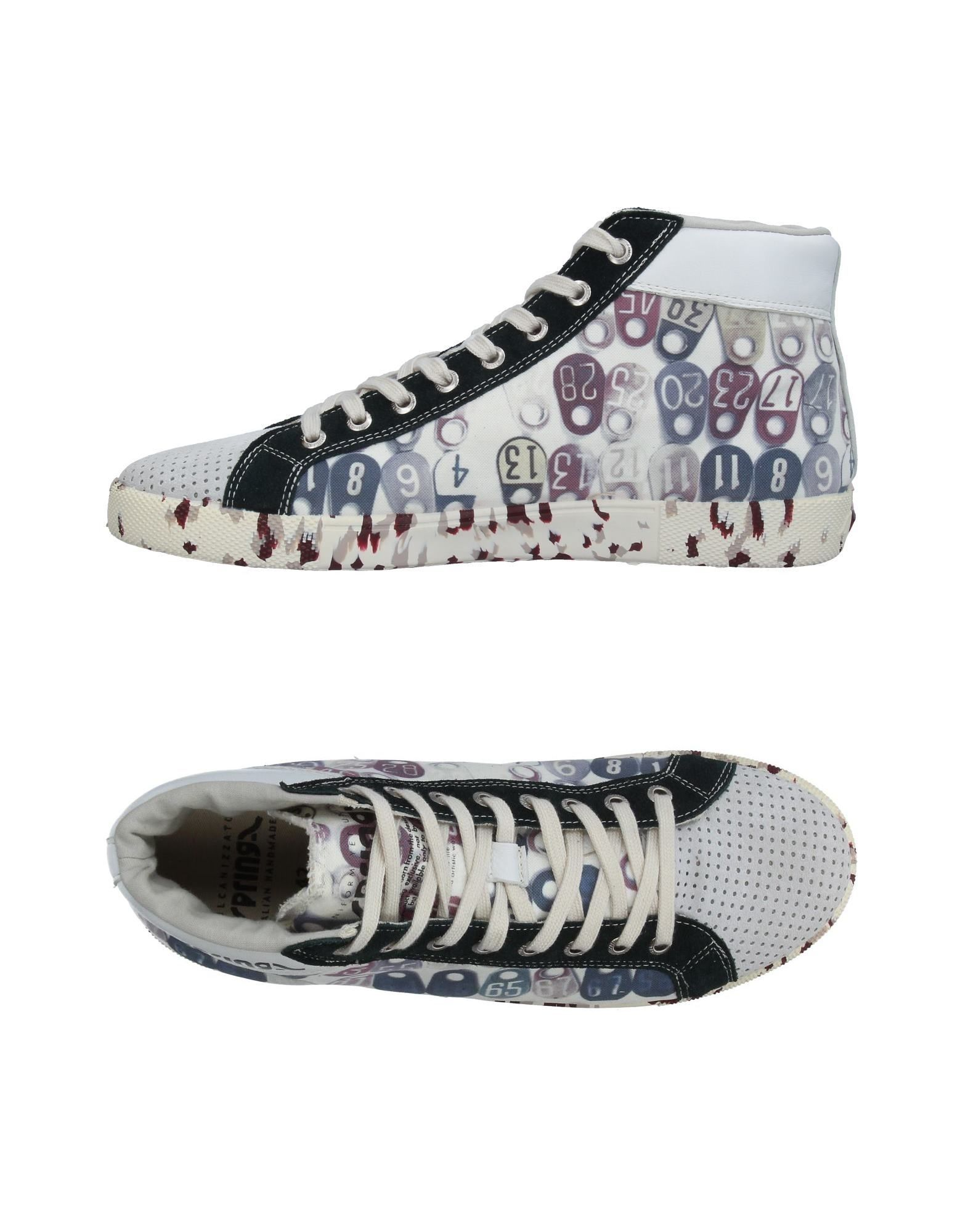 Фото SPRINGA Высокие кеды и кроссовки. Купить с доставкой
