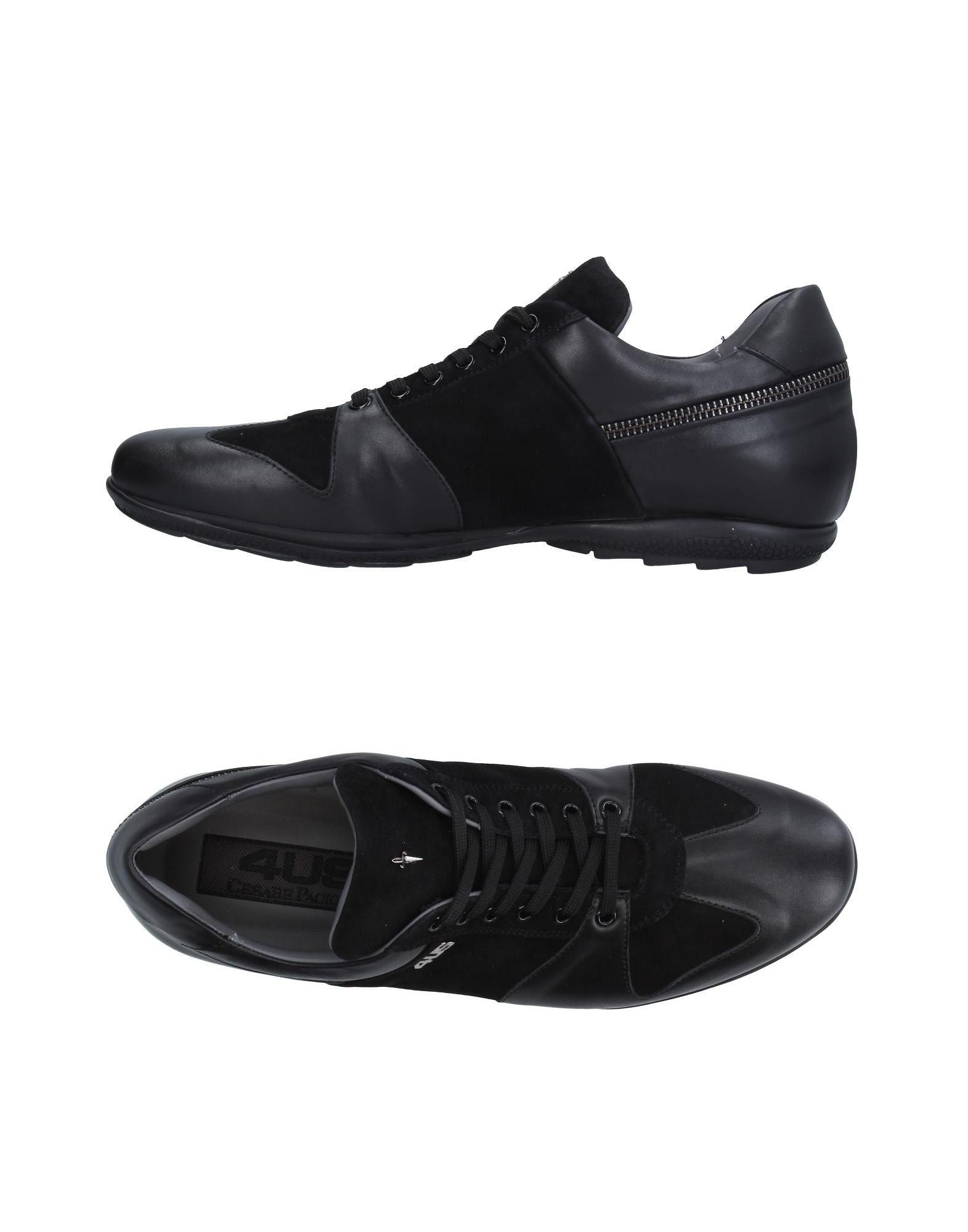 CESARE PACIOTTI 4US Низкие кеды и кроссовки цены онлайн