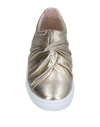 Фото 2 - Низкие кеды и кроссовки цвет платиновый