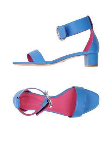Фото - Женские сандали OSCAR TIYE пастельно-синего цвета