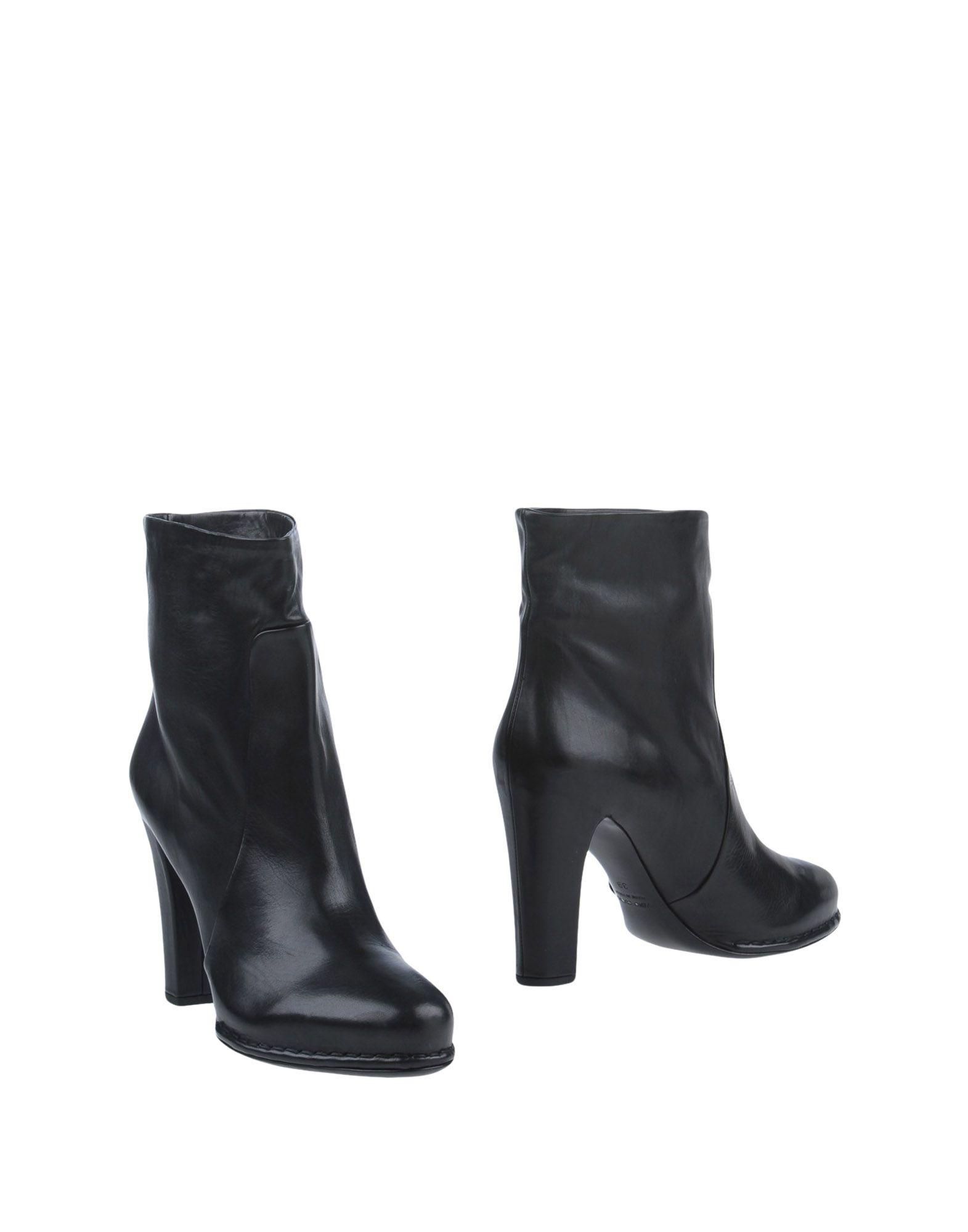 ROBERTO DEL CARLO Полусапоги и высокие ботинки magazzini del sale полусапоги и высокие ботинки