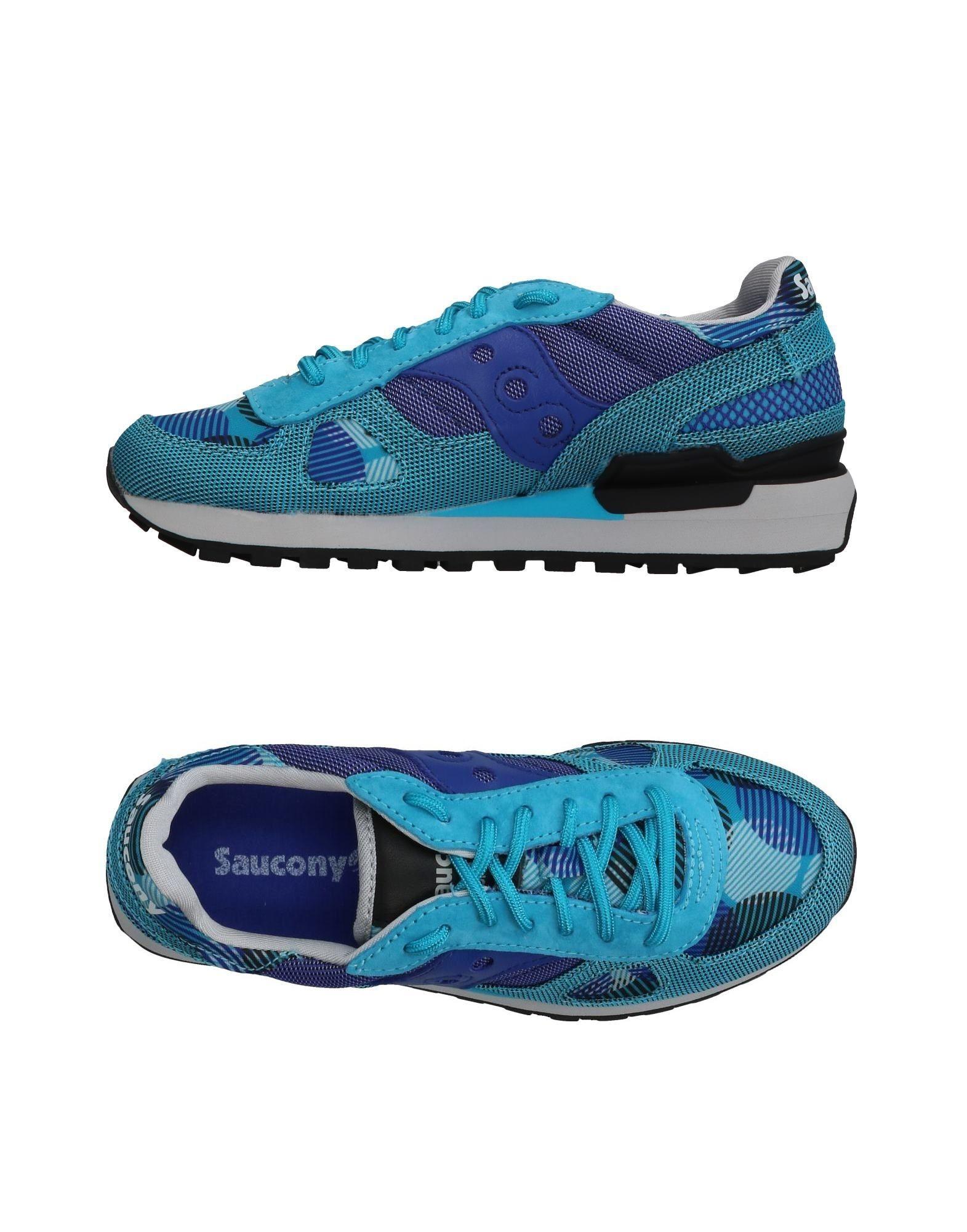 SAUCONY Низкие кеды и кроссовки кроссовки мужские saucony peregrine 7 arctic цвет синий s20397 1 размер 11 45