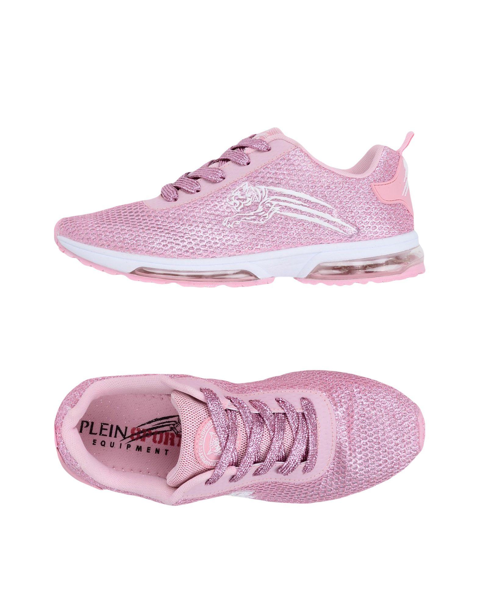 《送料無料》PLEIN SPORT レディース スニーカー&テニスシューズ(ローカット) ピンク 41 紡績繊維 SNEAKERS GRETEL