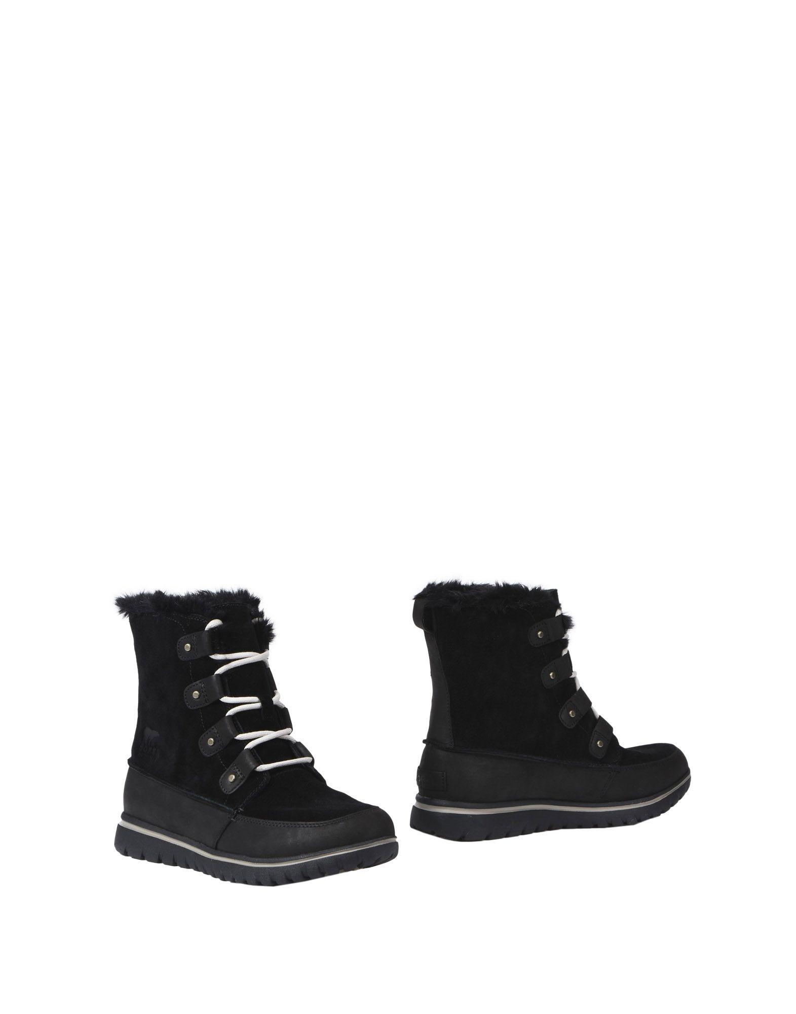 SOREL Полусапоги и высокие ботинки ботинки зимние женские sorel cozy joan black