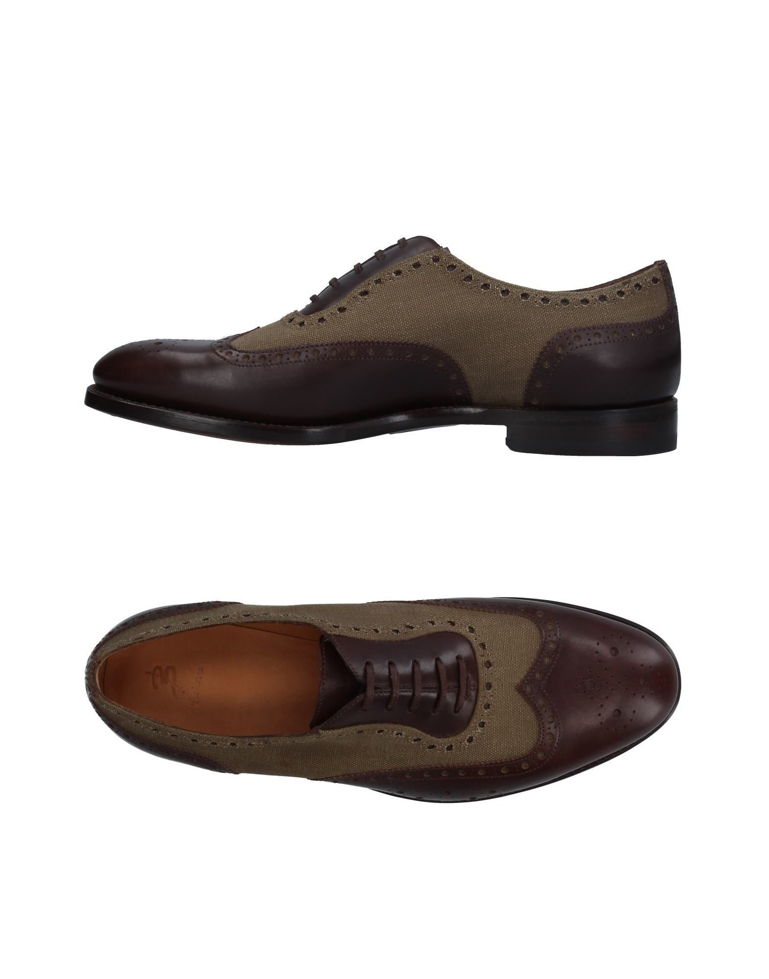 BARBANERA Laced Shoes in Dark Brown