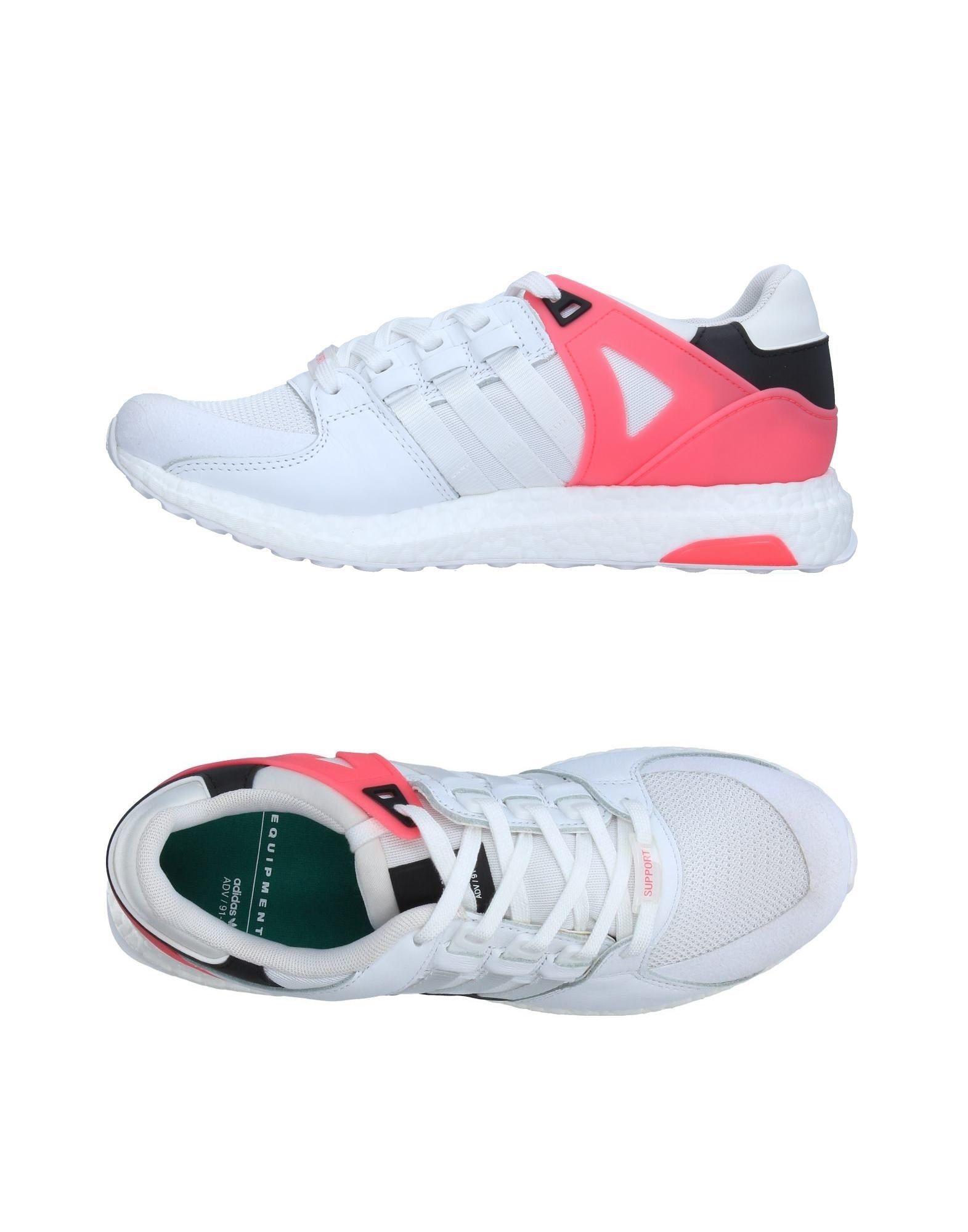 《セール開催中》ADIDAS ORIGINALS メンズ スニーカー&テニスシューズ(ローカット) ホワイト 6 紡績繊維 革