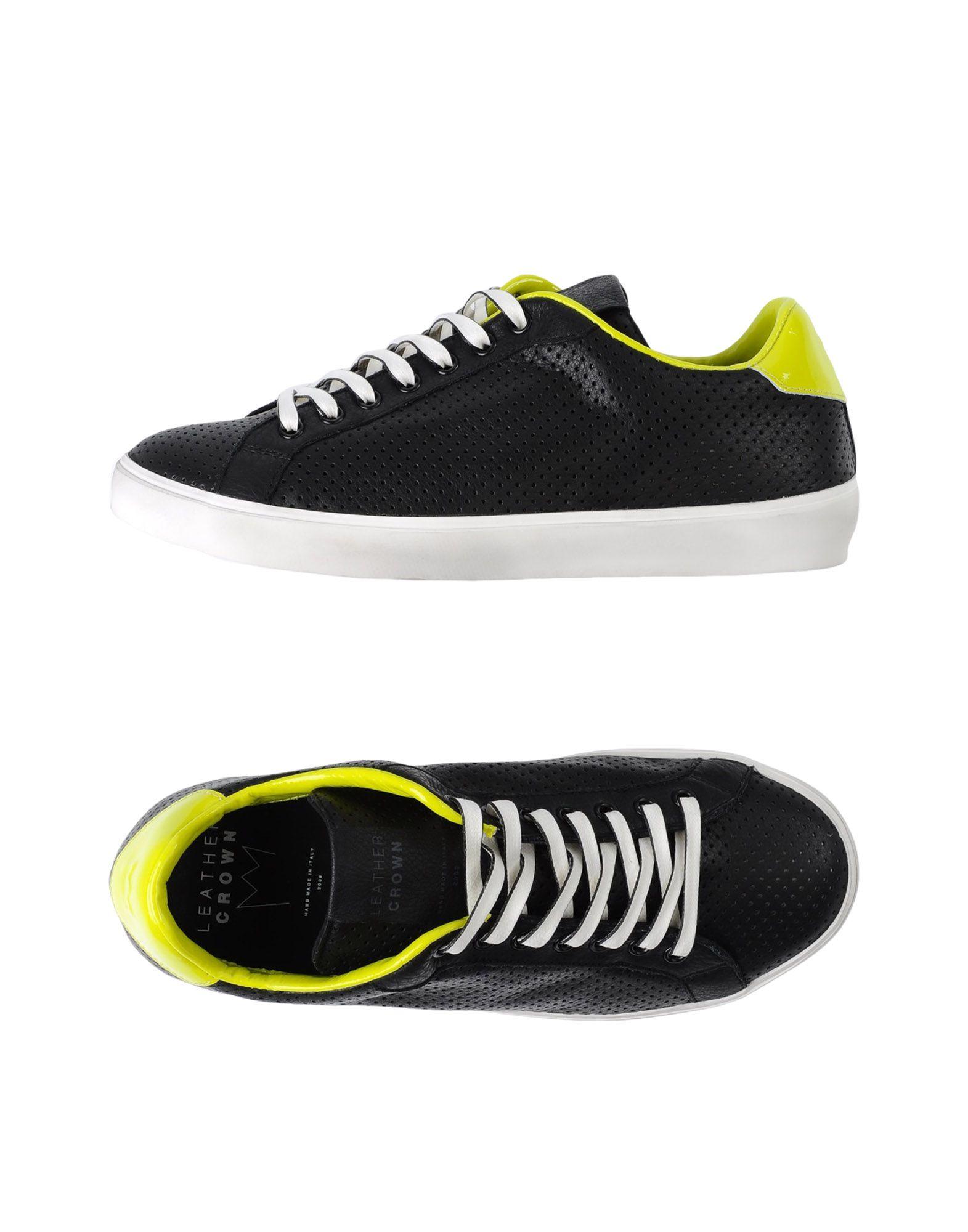 ФОТО leather crown низкие кеды и кроссовки