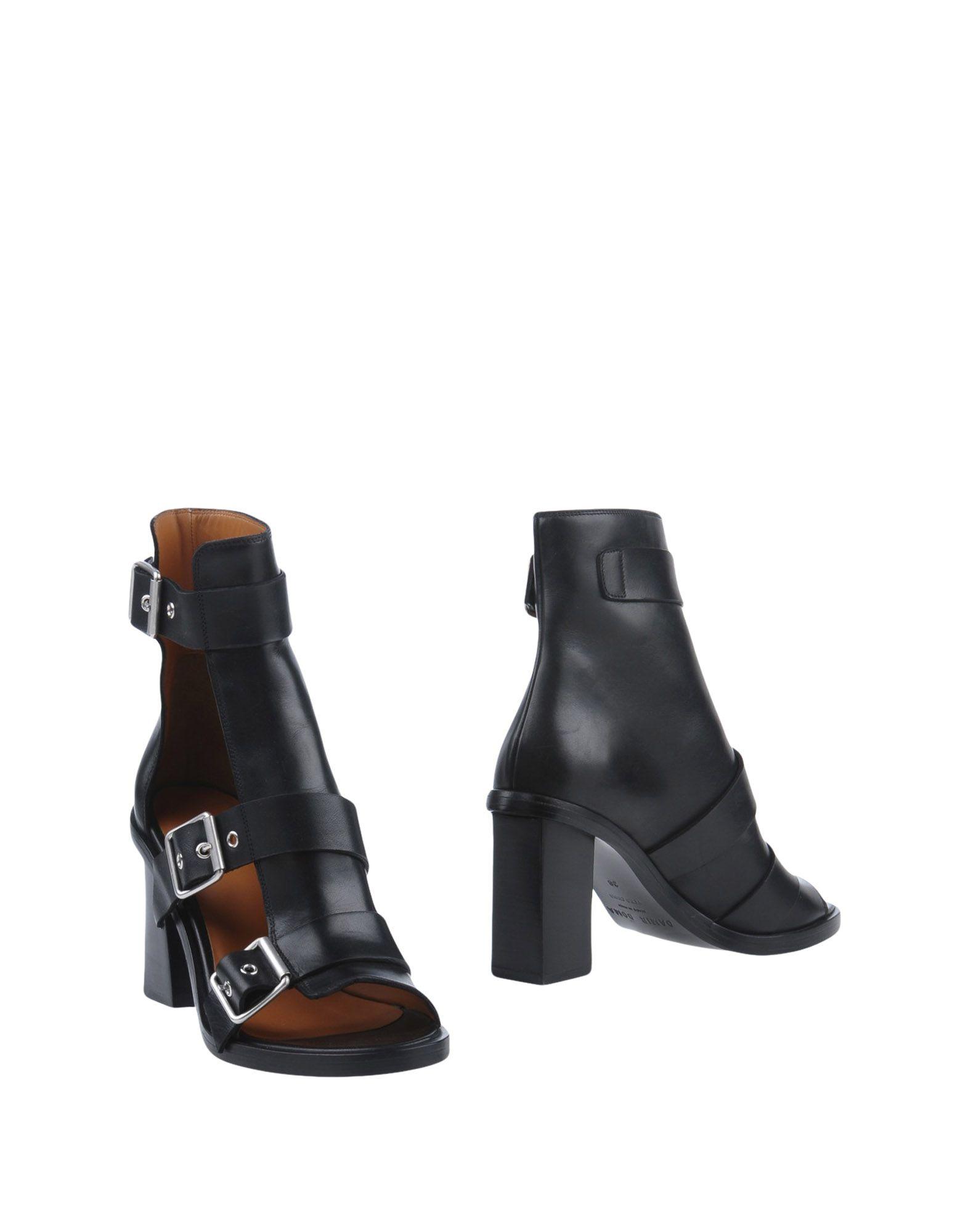 DAMIR DOMA Полусапоги и высокие ботинки damir doma топ без рукавов